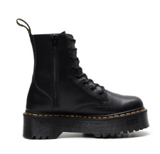 Doc Martens Women Leather Heeled boots shoes Smooth US Size Doc Eye New 2020 7 8