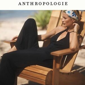 $148  Anthropologie CORINNA JUMPSUIT   new L