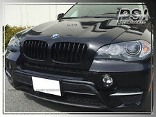 OE Style Shiny Black Replacement Front Grille For BMW E70 Model X5 SUV 07-13
