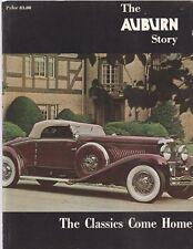 THE AUBURN STORY, CLASSICS COME HOME-INCLUDES CORDS & DEUSENBERGS-1972