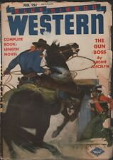 Blue Ribbon Western 1945 February. Pulp