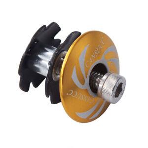 Bicycle 28.6mm Headset Top Star Nut Stem Cap Titanium Bolt Road Bike Accessor MN