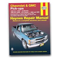 Haynes 24065 Repair Manual Chevrolet GMC Full-size Gas Pick-ups 88-98 C/K ny