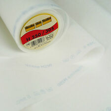 Vilene H250 Iron on Interfacing Medium Weight 50cm X 90cm / Interlining Fusable