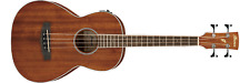 Ibanez PNB14E-OPN Parlor Acoustic/Electric Bass Guitar (Natural)