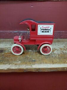Ertl Campbell's Pork & Beans 1905 Ford's First Delivery Car Bank #9394
