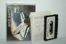 Space shuttle to Journy in to space game used msx I and II Edition UK fr1 55353