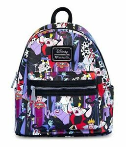 Loungefly Disney Villains Mini Back Pack Limited Edition