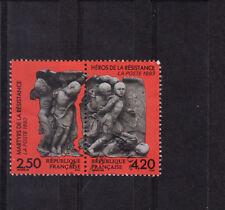 paire martyrs de la résistance   1993  num: 2813/14  oblitéré /4