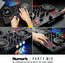 Numark Partymix II DJ Controller con effetti Luce Ex-demo Garanzia Italia 2 anni