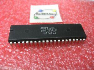 M82C55A-2 OKI Japan Peripheral Interface IC Plastic 82C55 8255 - NOS Qty 1