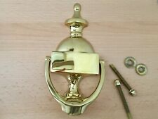 Carlisle Brass Urn Door Knocker - new in box PVD Stainless brass collection