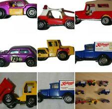 MIXED JOB LOT OF 8 VINTAGE  70s DINKY CORGI MATCHBOX TOY CARS