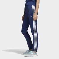 New Adidas Original Womens SUPERSTAR TRACK PANTS BLUE DV2639 XS - L TAKSE
