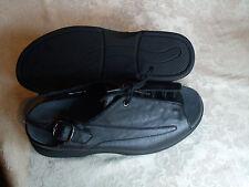 To The Point Lexi Black Leather Sandle Women's US 8M// British 5.5G NIB $164
