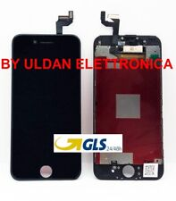 TOUCH SCREEN + LCD DISPLAY RETINA FRAME PER APPLE IPHONE 6S VETRO SCHERMO NERO