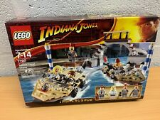 LEGO INDIANA JONES 7197 VENICE CANAL CHASE NEW SEALED RARE