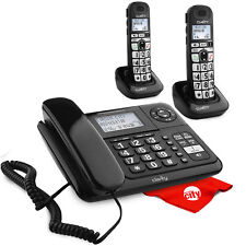 Clarity E814Cc with D703Hs Dect 6.0 Amplified Handset Bundle