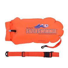ISHOF SaferSwimmer TPU Safety Swimming Bouy With Dry Bag Storage 30L Orange