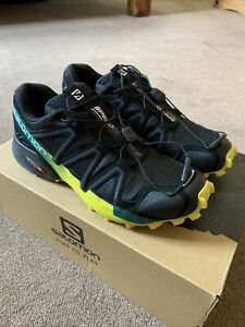 Salomon Speedcross 4 - Trail Running Shoes - UK 7.5 - Superb Condition - Boxed