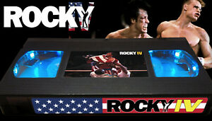 Rocky IV (1985) - Retro VHS Lamp +Remote Control - 80s Action Movie