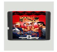 Double Dragon 16 bit MD Game Card For Sega Mega Drive For Genesis