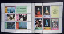 Niue 1987 Statue of Liberty Centenary (2nd Series) 2 Mini Sheets. MNH.