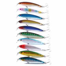10PCS 16cm/42g Trolling Bait Minnow Fishing Lure Bass Swimbait Tackle Wobbler