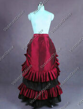 New listing Victorian Gothic Bustle Skirt Steampunk Comic Con Cosplay Theater Wear K034 S