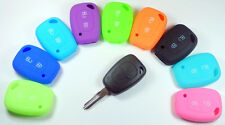 Key 2 Button Silicon Remote Floding  Shell Cover For RENAULT / OPEL