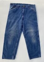 CARHARTT 1980's  USA MADE  VINTAGE JEANS  SIZE 38