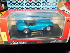 Majorette 1/24 Club Blue soft top AC Cobra 427 Diecast Car