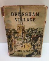 John Moore Hardback Book - September Moon, Dance and Skylark, Brensham Village