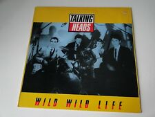 MAXI 45 Tours - TALKING HEADS - WILD WILD LIFE - 1986 EMI K060-20 1420 6