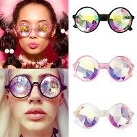 Kaleidoskop Sonnenbrille Damen Herren Partybrille Spaßbrille Rund Rahmen Brillen