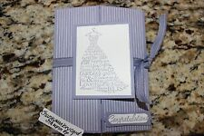 Stampin Up wedding card Love & Laughter Wisteria Wonder