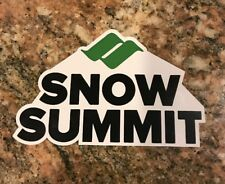 Snow Summit Ski Sticker - Skiing Snowboarding California Mountain Sports Burton