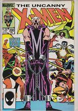 X-MEN DOUBLE SIZED ISSUE DEC #200 MARVEL COMIC BOOK 1985