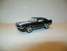 Johnny Lightning 1969 Chevy Camaro SS - Black w/ White Stripes 1:64  Diecast Car