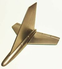 Metal Drone Airplane D3 Technologies Paperweight Futuristic Space Craft Plane