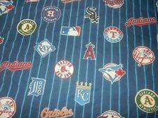 Pottery Barn Teen Major League baseball Mlb Pillow Case (100% Cotton Fabric)