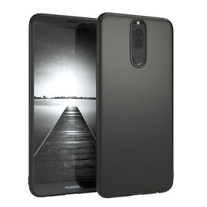 For Huawei Mate 10 Lite Case Silicone Cover Protection Bag Slim Matt Black
