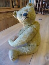 ANCIEN OURS 50 cm DE COLLECTION 1892 1900 STEIFF ??? OLD TEDDY BEAR COLLECTOR