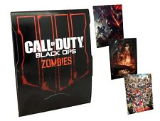 Official Call of Duty Black Ops 4 Art Cards Zombies - No Game - NEW