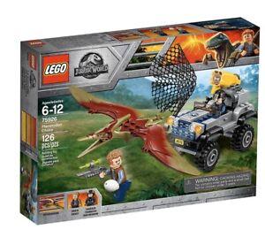 LEGO 75926 -JURASSIC WORLD - Inseguimento dello Pteranodonte- NEW