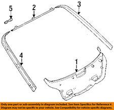 BMW OEM 95-99 318ti-Door Interior Trim Panel-Joint Cover 51498186445