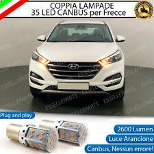 COPPIA LAMPADE PY21W BAU15S CANBUS 35 LED HYUNDAI TUCSON TL FRECCE ANTERIORI