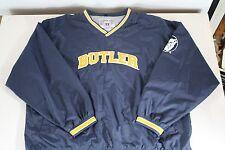 Butler Bulldogs windbreaker v-neck Pullover Jacket Golf jogging sweatshirt NEW