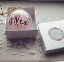 Personalised Name Christmas bauble/ Ornament  | Christmas decoration
