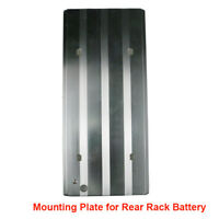 Aluminium Alloy Mounting Plate Bracket holding Stand for Rear Rack Battery Seat
